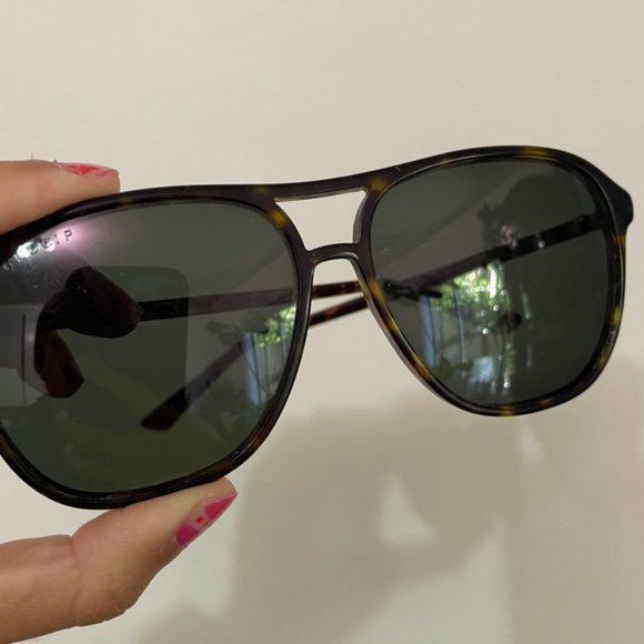 Gucci Aviator Black Sunglasses